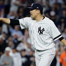ヤンキース、松井MVP以来のWS進出王手 田中が7回3安打無失点の快投!