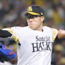 ソフトBの山田大樹がヤクルトへ移籍 「強いホークスでやれた事が誇り」