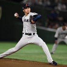 侍J薮田、4回途中3失点で降板 先制直後に被弾、3四球と制球に苦しむ