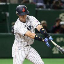 侍ジャパン、外崎の先制打も拙攻続く…先発・田口は4回まで1安打無失点