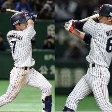 侍J、田口の好投もあり4点リード 外崎&西川、好調コンビが揃って2打点!