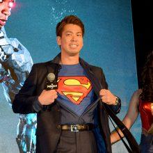 マエケンがスーパーマンに!「野球選手とスーパーマンが夢だった」