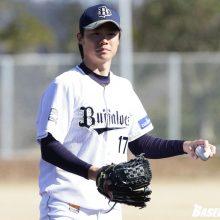 【オリックス】山崎福、背番号「0」に変更…「17」はFA加入の増井に