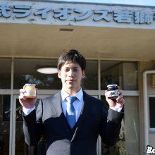 西武のドラ1・斉藤大が入寮「強気で攻めていく」