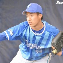 DeNA、虎との練習試合に完敗も…育成出身・笠井が2回無失点の好投