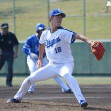 中日・鈴木翔、練習試合で3失点 3回で被安打7「すべて甘い球だった」