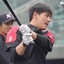 中日とロッテが練習試合 ロッテは安田、藤岡裕ら新人3名がスタメン入り