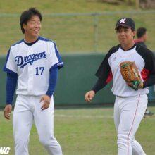ロッテ菅野「藤岡の勢いに乗って行けた」 2番に入り適時三塁打2本!