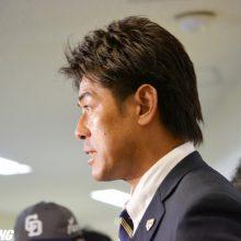 侍J稲葉監督が中日キャンプを視察 大野雄、又吉ら「仕上がり早い」