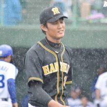 阪神・藤浪「いい感覚で試合に入れた」も…無念の降雨ノーゲーム