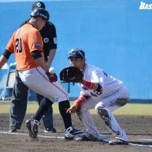 ヤクルト坂口、練習試合で一塁守備 小川監督「何かあったときの準備」