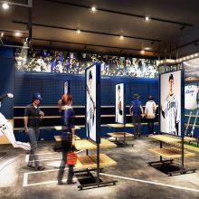 【西武】所沢の新オフィシャルショップで様々な試み!床面投影に特製野球盤、限定グッズの販売も