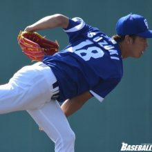 中日・鈴木翔、ソフトB相手に6回3失点 2被弾も四球は1つ、制球安定