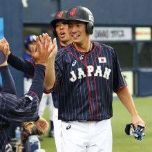 侍ジャパン、2戦連続の完封勝ち! 秋山、松本の1、2番コンビが躍動