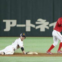 巨人・吉川大の走塁ミスに里崎氏「ダブルプレーにならない走塁を…」