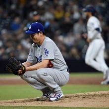 前田健太、2勝目の権利持って降板 6回途中4失点も打線が強力援護