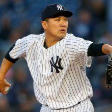 田中将大、7回途中1失点で3勝目 ヤンキース3連勝、打線も爆発!