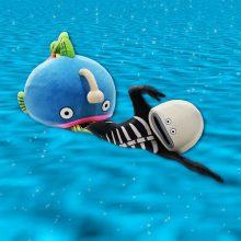 【ロッテ】謎の魚が台湾で始球式「ノーバンで投げられるように」