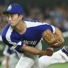 東邦高のセンバツ優勝に中日・藤嶋「後輩たちの活躍で元気をもらいました」