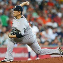 田中将大、7回途中3失点で5勝目ならず ヤンキースは逆転勝ち、貯金11