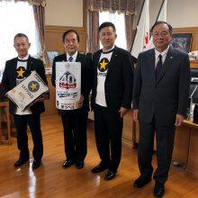 【西武】ライオンズ缶で埼玉県をサポート!黒ラベル「ライオンズ応援缶」の販売を知事に報告