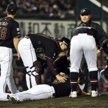 打球直撃の楽天・戸村は「右下顎角骨折」 復帰まで3~4カ月