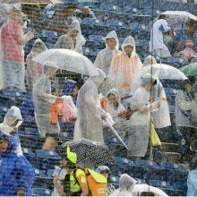 台風21号の接近で2試合が中止…4日のプロ野球はどうなる?全試合が屋外球場での開催