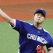 中日・松坂、12年ぶり球宴は1回5失点 西武の後輩に2本塁打許す