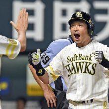 ソフトバンク、球団タイ記録の1試合8本塁打 柳田2発、牧原はプロ1号!