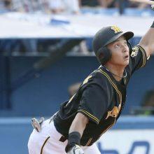 若松氏、両打ちの阪神・熊谷に「右も左もいいスイング」