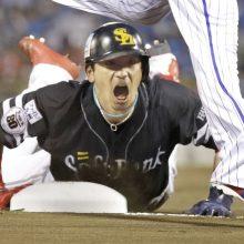 ソフトB・松田のヘッスラに真中氏「盛り上げるのが上手い」