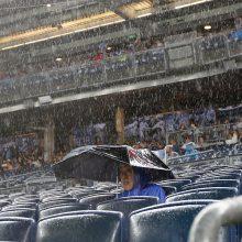 【MLB】田中先発予定のメッツ戦が雨天中止…田中はスライドせず