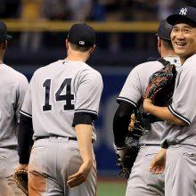 【動画】田中将大が完璧な投球でレイズ打線を翻弄