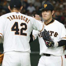 宮本和知氏、巨人・岡本の好返球に…
