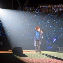 【西武】渡辺美里が「我がホーム」で熱唱!アカペラで10年ぶりVを後押し