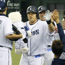 """西武・中村が宣言残留「""""日本一""""の喜びを必ずこのチームで味わいたい」"""