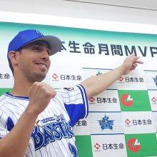 DeNA・ソト、月間MVPを受賞「すごく嬉しい」