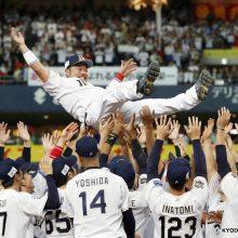 引退のオリックス・小谷野栄一「野球人生で一番の日」