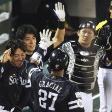 ソフトバンク、2年連続9度目の日本一 4勝1敗1分でセ王者・広島を撃破