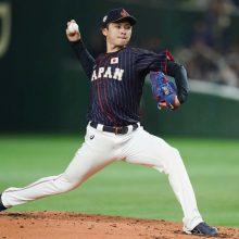 侍・上沢、MLB選抜相手に5回1失点の好投 フォーク冴え毎回の7奪三振!