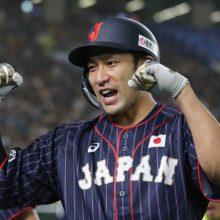 侍・柳田、衝撃弾含む4安打4打点 上沢5回1失点7K、MLB選抜に連勝!
