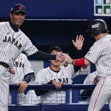 侍J、4勝1敗で日米野球の勝ち越し決める 代打・山川同点打、甲斐がV打