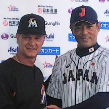 侍J・稲葉監督、明日開幕の日米野球に「ワクワク」