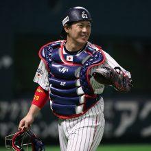 侍ジャパンの稲葉監督が日米のゴールドグラブ捕手に注目「強肩対決を楽しみにしたい」