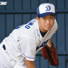 中日ドラ3・勝野「準備できている」 社会人MVP右腕、実戦登板に意欲