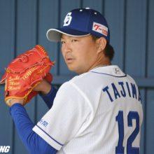 中日・田島が初日からブルペン入り 昨季防御率7.22「やり返したい」