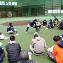 """西武が野球振興に熱!指導者講習会に""""ルーキー""""長田秀一郎が登板"""