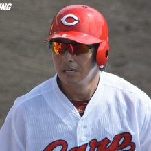 広島・長野、本拠デビュー戦は右邪飛 巨人移籍の丸は2番で2三振1四球