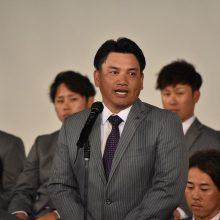 ロッテ・井口監督、出陣式で決意「1年間しっかりと戦い抜きたい」
