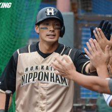 日本ハム、主軸の3本塁打で逆転勝ち 中田&大田2ラン、王は2戦連発